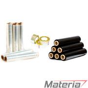 Стретч-пленка (стрейч-пленка),  скотч упаковочный от производителя Materia
